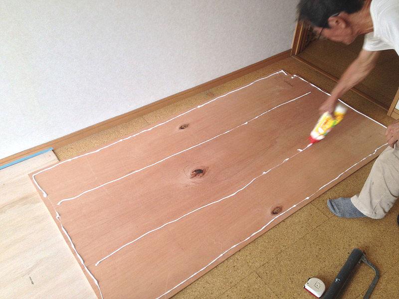 グループホーム床板張り1