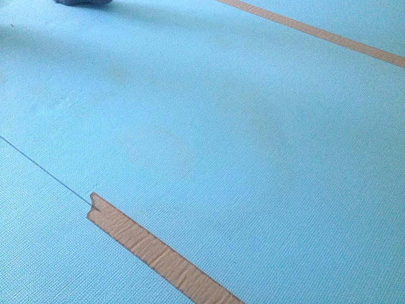 絨毯リフォーム前 (1)