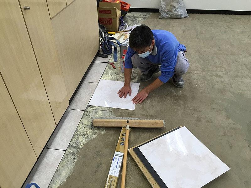 クミ美容室Pタイル割り付け作業2