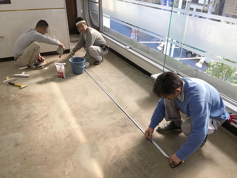 クミ美容室Pタイル割り付け作業3