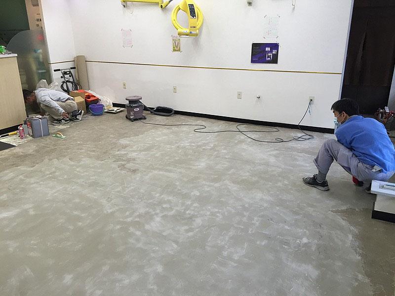 クミ美容室Pタイル割り付け作業