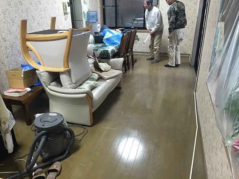 吉井ウッドタイル家具移動