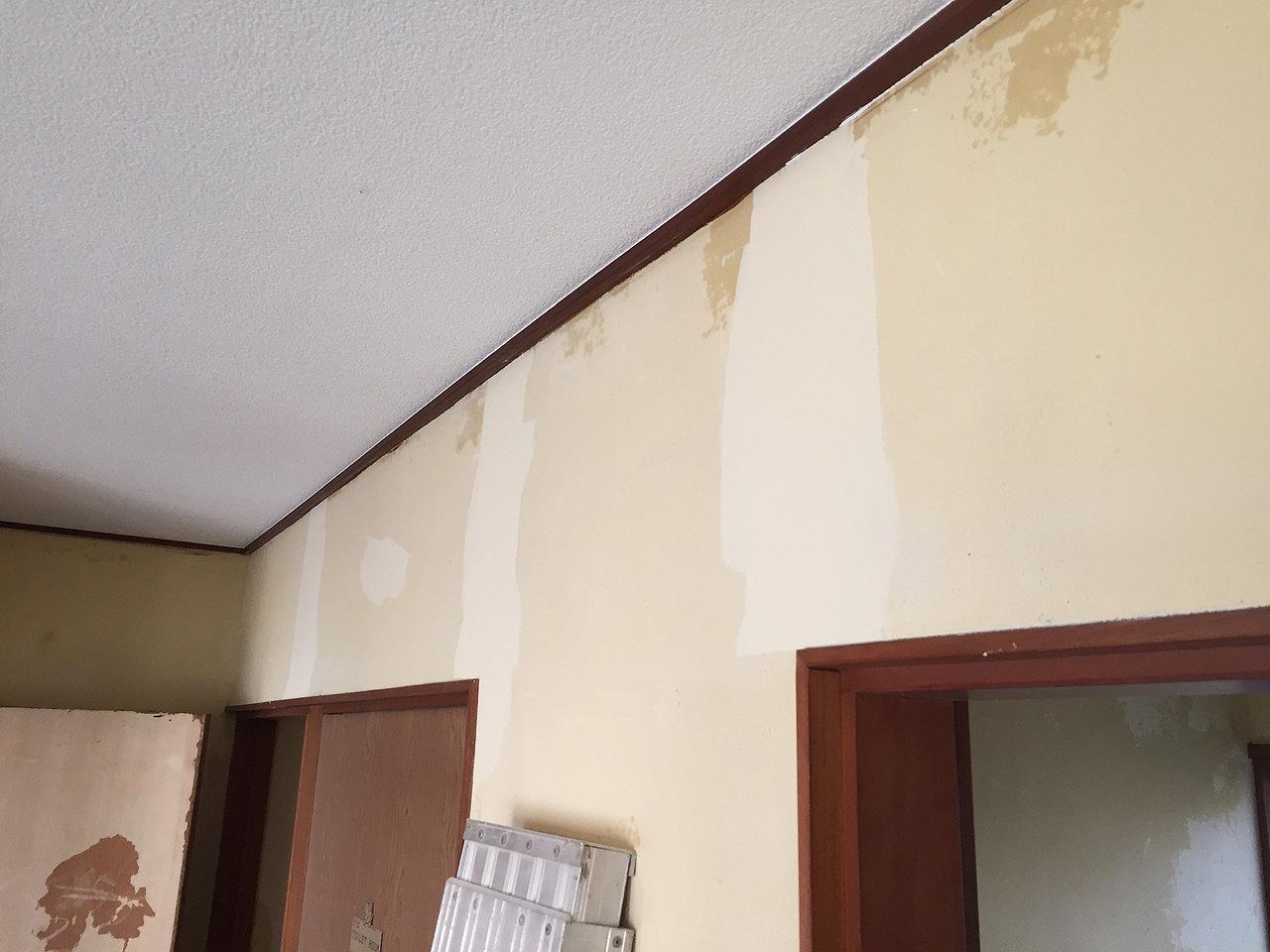 壁パテ処理後2