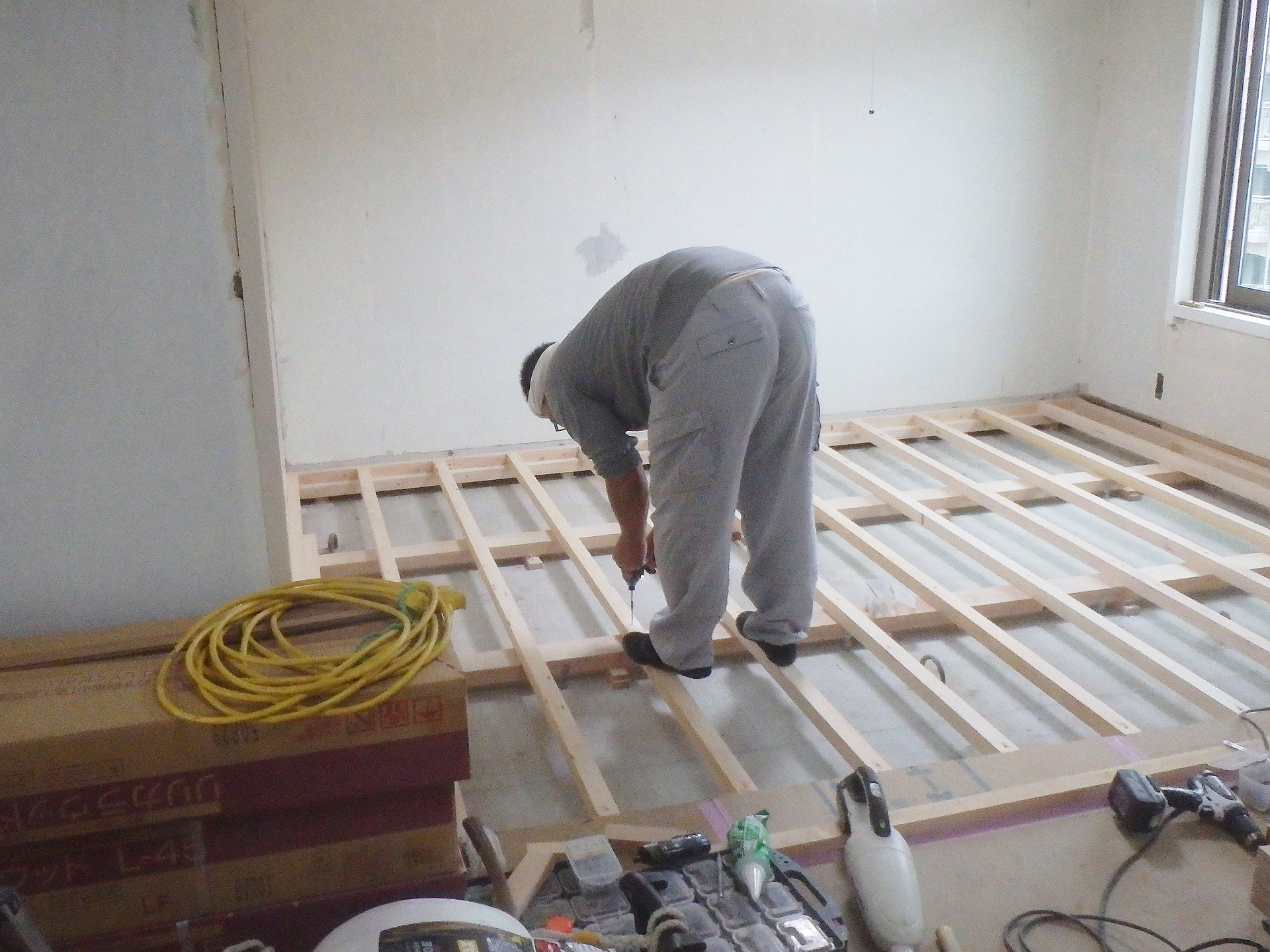 床フローリング2